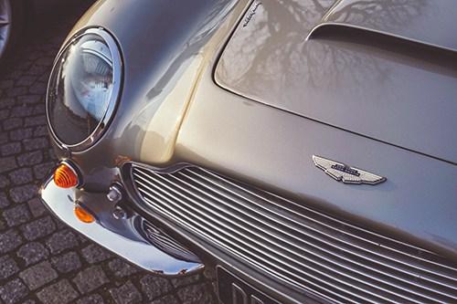 Sarah Dowdings Aston Martin
