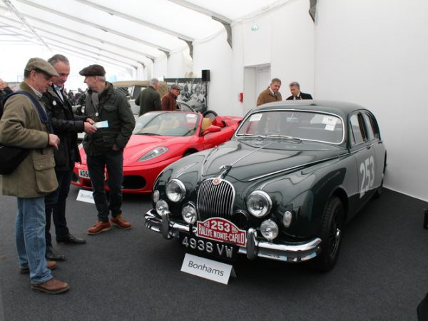 Jaguar Mark 1 classic car auction