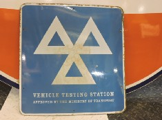 Classic Car MOT sign