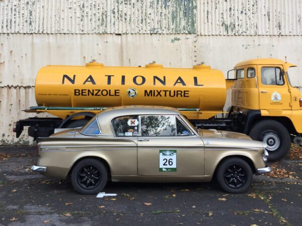 classic car storage fuel